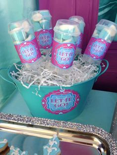 Frozen Movie Night Party Ideas | Photo 7 of 12 | Catch My Party