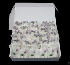 25 Thistle Scottish Wedding Favour Bags  Lavender Soap