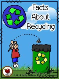 FREE 30 funny facts about Earth Day. Ready to print and put together as a flip book. A great starting point for many Earth Day reading and writing projects! – Primary Inspiration by Linda Nelson – Elementary Teaching Resources Earth Day Facts, Facts About Earth, Earth Day Activities, Science Activities, Reading And Writing Project, Recycling Information, Recycling Facts For Kids, Recycling Ideas, Social Studies Activities