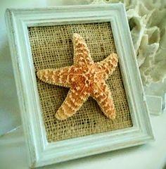 Charmingly Shabby, Starfish Home Accent - Coastal Chic Decor