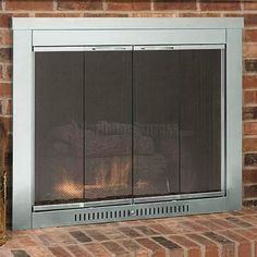 fireplace doors with blowers. modern doors masonry fireplace  Google Search Glass Fireplace Doors With Blower An Alternative To A