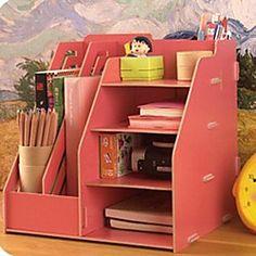 DIY Modern Solid Multifuncional Organizador de escritorio - USD $ 17.99