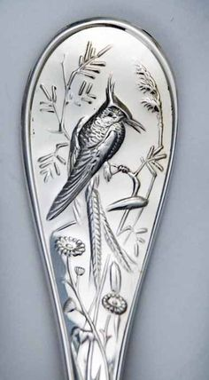 1stdibs | Tiffany Audubon Sterling Silver Flatware Set 135 Pieces