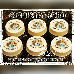 Great business promoter!!!  Edible image chocolate covered Oreo's 💋