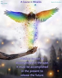 power of now . Power Of Now, A Course In Miracles, Inner Peace, Blue Bird, Best Quotes, The Past, Healing, Heart, Therapy