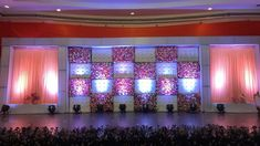 We provide end-to end wedding reception stage décor service. Our elaborate list of vendors and suppliers provide us with premium quality flowers, lights, and other artefacts to use them in stage decoration. Wedding Stage Decorations, Reception Stage Decor, Wedding Stage Design, Marriage Decoration, Flower Decorations, Table Decorations, Lavender Decor, Wedding Entrance, Wedding Mandap