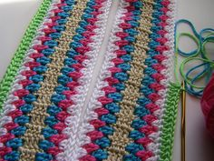 ribbons of candy-colored yarn | Flickr - Photo Sharing!