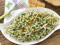 Yeşillikli Tavuk Salatası Resmi