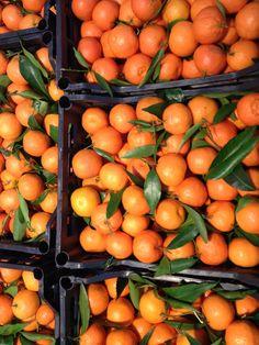 Oranges Rome market