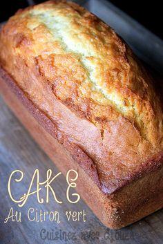 Cake au citron vert extra moelleux