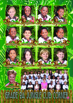 Grade 2 - Amusement Park Theme Yearbook Theme, Grade 2, Amusement Park, Creative Design, Magazine, School, Movie Posters, Ideas, Second Grade