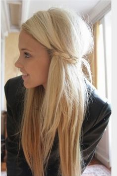 when I have longer hair...
