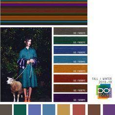 #DesignOptions FW18/19 color report on #WeConnectFashion, Contemporary Women's Mood details: Dark Wonder, detail.