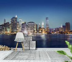New York panorama Tapet