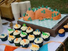 A Batch to Match dinosaur cake dino