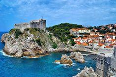 Dubrovnik, Croatia ... UNESCO world heritage site on the Adriatic Sea