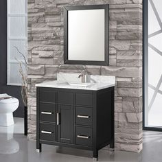 "Found it at Wayfair - Ricca 36"" Single Sink Bathroom Vanity Set with Mirror"