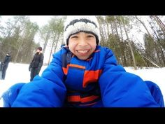 This Video Of Syrian Refugees Tobogganing For First Time In Peterborough Will Melt Your Heart — PtboCanada