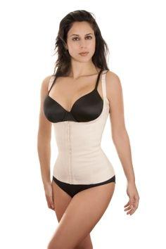 1141fbef9edb1 Flakisima Power Cotton   Rubber Firm Compression Vest  70.00 Women s  Shapewear