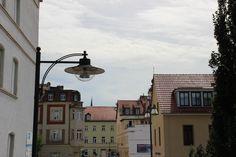 Altstadt mit Lampe