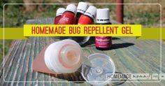 Homemade Bug Repellent Gel