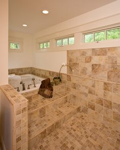 Step In Pure Relaxation.  Quality Design & Construction in Raleigh #BathDesign @KitchenBathChan