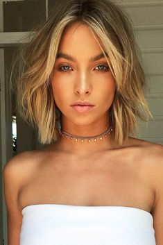 18 Chic Short Haircuts Ideas for Trendy Women ★ Short Bob Hairstyle for Romantic Look Picture 2 ★ See more: http://glaminati.com/short-haircuts/ #shorthaircuts #shorthairstyles