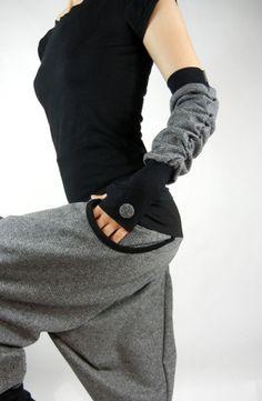 Armstulpen - Armstulpen Handstulpen - ein Designerstück von Sphinga bei DaWanda