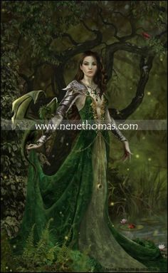 Dragon Witch Astranaithes.... Look at all the details!  This artist is a genius.  I will own this.