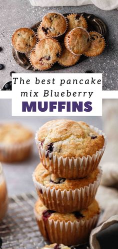 Fruit Recipes, Muffin Recipes, Delicious Recipes, Dessert Recipes, Yummy Food, Breakfast Pastries, Breakfast Recipes, Best Pancake Mix, My Favorite Food