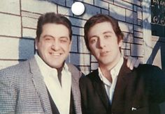 Al Pacino and his father Salvatore Pacino