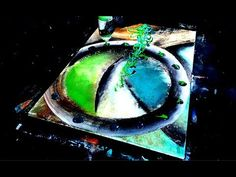 JAW-DROPPING ABSTRACT PAINTING ELLIPTICAL FREESTYLE BY DRANITSIN - YouTube
