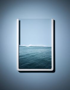 water in a frame