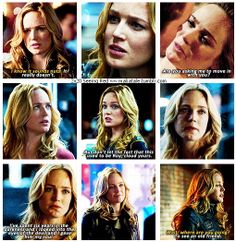 2x20 Seeing Red [gifset] - Sara Lance collection - Arrow