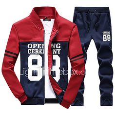 New Men Print Tracksuit Sweat Outwear Pants Sports Suit Fashion Casual Hoodie Sweatshirts, Running Suit, Track Suit Men, Man Set, Sport Pants, Suit Fashion, Hoodie Jacket, Swagg, Mens Suits
