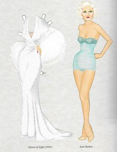 Gene Tierney Paper Doll By Gregg Nystrom Facebook