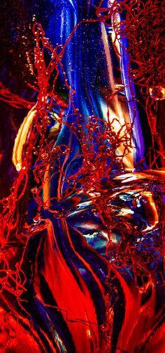 abstract.    geen enkele overeenkomst met de zichtbare werkelijkheid.