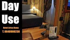 Day use Hotel Lirico Roma New Offer from tomorrow you can stay with us only for few hours.