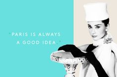 10 Audrey Hepburn Quotes To Live By #refinery29  http://www.refinery29.com/2015/05/86009/audrey-hepburn-quotes#slide-4  For further proof, see the classic Hepburn and Cary Grant film, Charade, or her Oscar-nominated turn in Sabrina.