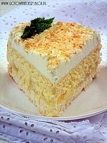 CIASTO ZEMSTA TEŚCIOWEJ SKŁADNIKI NA KRUCHE CIASTO: 3 s… na Stylowi.pl Sweet Recipes, Keto Recipes, Dessert Recipes, Cooking Recipes, Desserts, Cheesecake Pops, Coconut Cheesecake, Pumpkin Spice Latte, Vanilla Cake