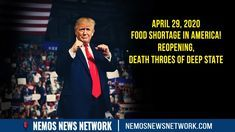 - Food Shortage in America! Reopening, Death Throes of Deep State Patriots News, Discord Chat, Great Awakening, Keep Up, Channel, Death, America, Youtube, Usa