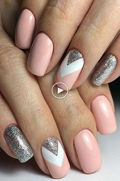 Manicure inspo Www.gelmo fb book an online party f Nageldesign Nail Art Nagellack Nail Polish Nailart Nails Elegant Nail Designs, Elegant Nails, Stylish Nails, Trendy Nails, Chic Nails, Cute Nail Designs, Nail Designs For Spring, Cute Nails For Spring, Cute Short Nails
