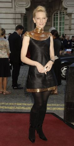 Pin for Later: Cate Blanchett Has the Most Impressive Red Carpet Résumé in Hollywood Cate Blanchett in Chanel at the 2006 UK Premiere of Volver