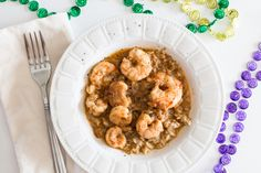 One of my favorite foods. Of all time. My mom's shrimp etoufee recipe.