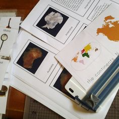 montessori homeschool free printables continents
