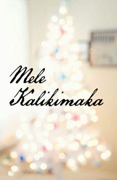 Merry Christmas Mele Kalikimaka