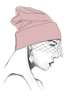 Fashion Illustration from Harper's Bazaar