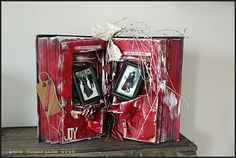 Altered book - For Christmas