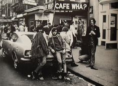 New York City 1960s Cafe Wha Greenwich Village Vintage by Christian Montone, via Flickr