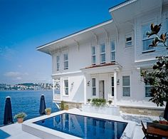 AD 2005 August - On the Bosporus in Istanbul by Mica Ertegun - nice view